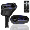 Blau LED FM Transmitter MP3 Player 12-24V