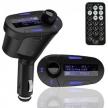 Blau LED FM Transmitter MP3 Player 12-24V